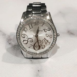 Betray Johnson Silver Watch